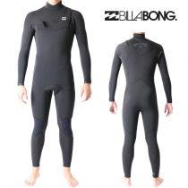 ビラボン ウェットスーツ メンズ 4mm / 3mm チェストジップ フルスーツ サーフィン ウェットスーツ Billabong Wetsuits
