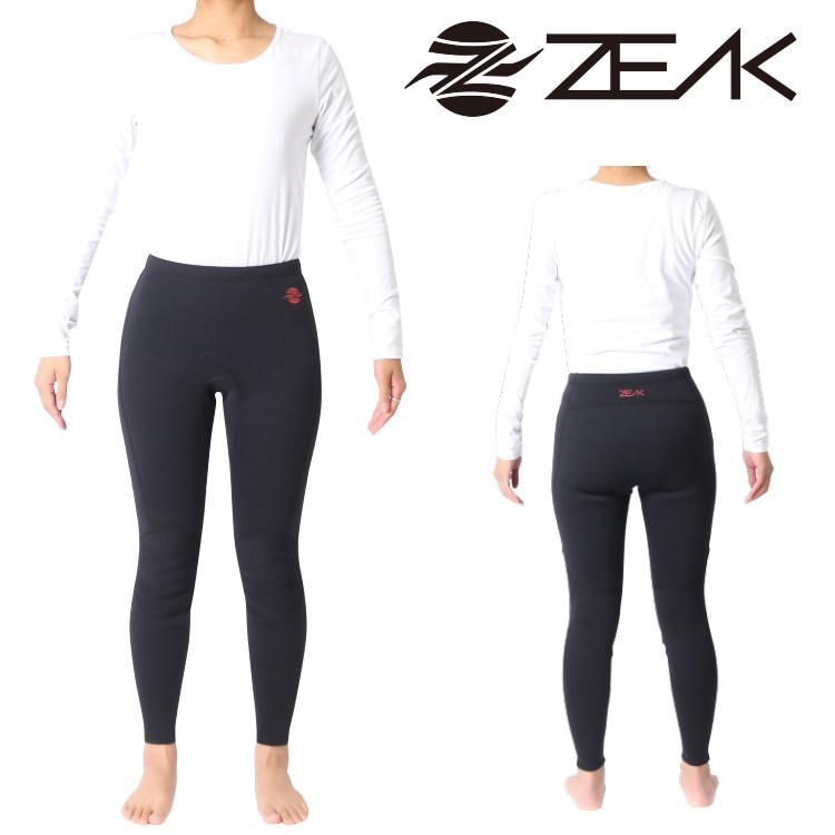 ZEAK(ジーク) ウェットスーツ レディース ロングパンツ (2mm) ウエットスーツ サーフィンウェットスーツ ZEAK WETSUITS