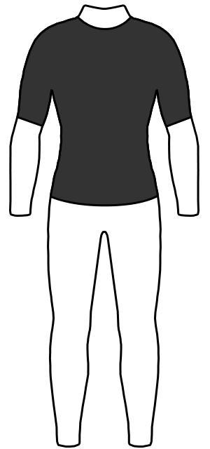 半袖タッパー